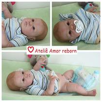 Bebê Boneca Reborn Toço Superior De Tecido Sob Encomenda