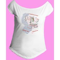 Camiseta Feminina Gola Senhor Sr Anel Aneis Hobbit 06