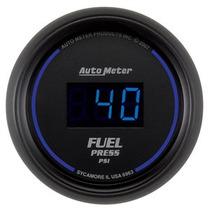 Manômetro Digital De Pressão De Combustível (preto/preto)