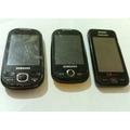 3 Celulares Samsung Originais Com Defeito