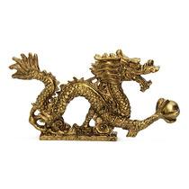 Dragão Dourado 6,5 X 12,5 Cm