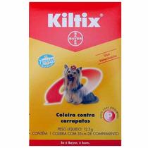 Kiltix Coleira Anti Pulgas E Carrapatos Bayer Cães Pequenos