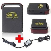 Rastreador Veicular Tk102 Gps/gsm/gprs + Carregador Veicula