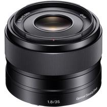 Lente Sony Sel E Mount 35mm F 1.8 Oss Estab. A6300 6000 Nex