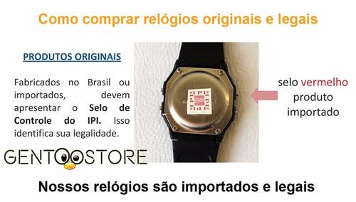 a7af6249aa1 Relógio Digital Retro Original Aqua A Prova D agua Aq 81. Preço  R  13 99  Veja MercadoLibre