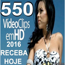 Baixe Hoje Pacote 550 Video Clipes Atualizados 2016 Hd Dj Vj