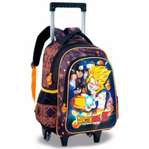 Mochila Rodinhas Dragon Ball Z Goku Naruto Pronta Entrega