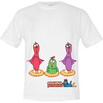 Camiseta Infantil Da Galinha Pintadinha