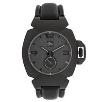 Relógio Masculino Quiksilver Foxhound Leather Black