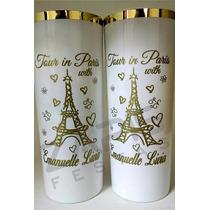 Copo Borda Dourada Casamento Lembrancinha Formatura Debutant