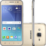 Celular Samsung Galaxy  J5 Duos Dourado + Chip Tim Grátis