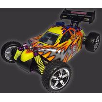 Automodelo Buggy 1/10 Syclone Combustão + Kit + Frete Gratis