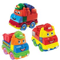 3 X Brinquedos Para Criança De 1 Ano Monta E Desmonta Fúnico