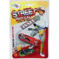 Kit Skate De Dedo Fingerboard + Acessórios Sk8 Desmontável