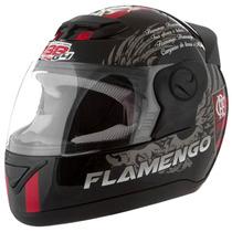 Capacete Evolution Flamengo Numeros 58 E 60