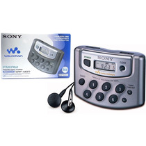 Rádio Sony Srf M37 Walkman Digital Am Fm