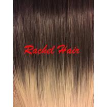 Aplique Tic Tac Ombre Hair 70 Cm Liso Fibra Japonesa