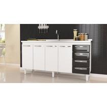 Gabinete De Cozinha Quality Para Pia De 1.80 - Compre Móveis