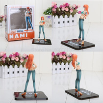 Boneco Nami Novo Mundo Anime One Piece Actfig Pronta Entrega