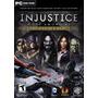 Jogo Pc Injustice Gods Among Us Ultimate Edition Míd.física