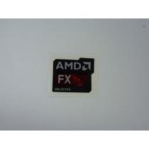 Adesivo Amd Fx Bulldozer Series Original Frete Gratis