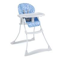 Cadeira De Refeição Burigotto Papa & Soneca Cubes Azul