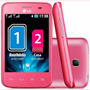 Capa Para Celular Lg E435 Pink