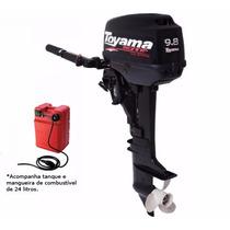 Motor De Popa Tm9.8ts Gasolina 9,8hp Toyama