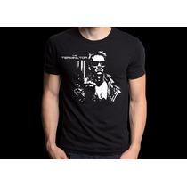 Camiseta Exterminador Do Futuro Terminator Camisa Filme Cult