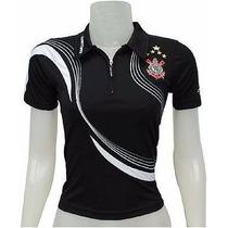Camisa Do Corinthians Babylook Feminina Imperdível
