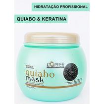 Máscara De Hidratação De Quiabo E Keratina 1 Kg