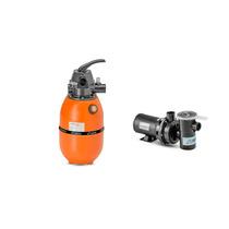 Kit Filtro F280 X + Moto Bomba Nbf-0 Nautilus Para Piscinas