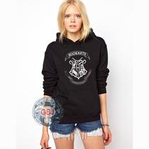 Blusa Harry Potter Hogwarts Moletom Canguru A Melhor !!