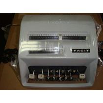 Máquina De Somar Facit C113 (semi-nova) Restaurada
