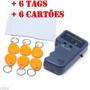 Duplicador E Copia Cartões E Tag Rfid 125khz Em4100 C/ 1 Key