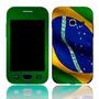 Capa Adesivo Skin628 Galaxy Ace Duos Gt-s6802b + Kit Tela
