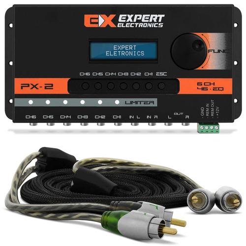 Mesa Crossover Expert Eletronics Px - 2 6 Canais Processador +