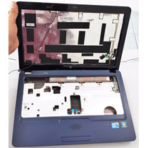 Carcaça Completa Notebook Hp G42 Azul Marinho