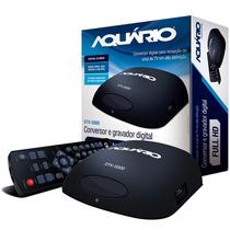 Conversor Tv Digital Aquário Função Gravador Contr. Remoto