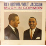 Usado, Lp Ray Brown Milt Jackson Much In Common Importado Verve comprar usado  Rio de Janeiro