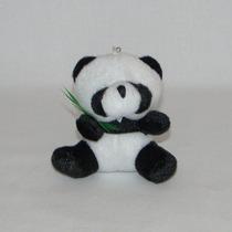 10 Chaveiros Lembrancinhas Mini Panda De Pelúcia