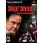 Jogo Ps2 The Sopranos Road To Respect Original Lacrado