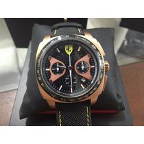 Relógio Ferrari Amarelo Quadrado Sf18.1.29.0108-original