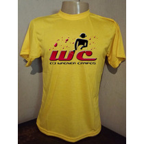 Camiseta Amarelo Dj Wagner Com Seu Nome
