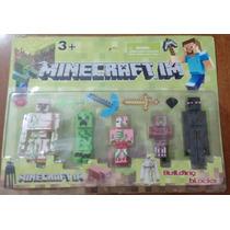 Minecraft Kit Bonecos Minecraft Coleção Pronta Entrega