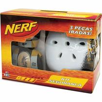 Nerf Capacete E Kit De Proteção Acessórios - Ref. 32615