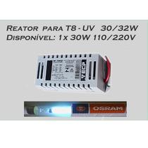 Reator Eletrônico Ecp T8 30w Para 1 Lampada Uv