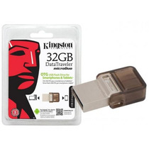 Pen Drive 32gb Kingston Usb Dtduo Data Travele Mania Virtual