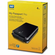 Wd My Passport Pro 4tb Raid Thunderbolt Time Machine Mac