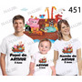 Lembrança De Aniversario Arca De Noé Camiseta Com 3